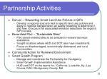 partnership activities1