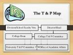the t p map