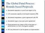 the global fund process rounds based proposals1