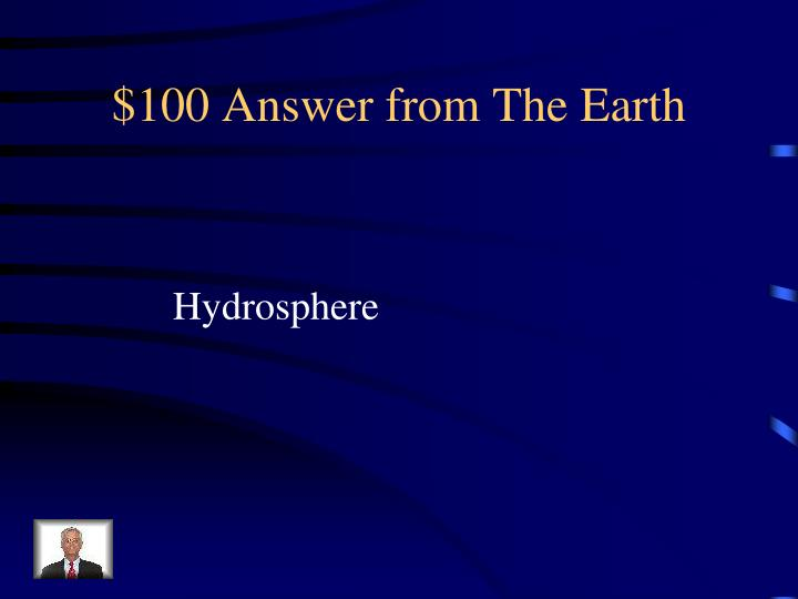 $100 Answer from