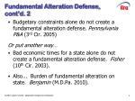 fundamental alteration defense cont d 2