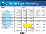ms hr report view web1