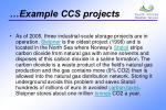 example ccs projects