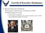 growth of executive dominance2