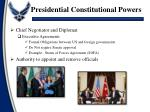 presidential constitutional powers