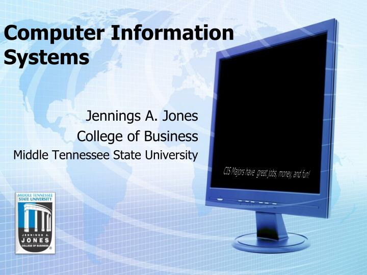 computer information systems n.