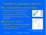 e xample q 13 performance indicators