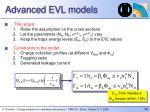 advanced evl models