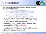 srh statistics