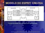 modelo do esprit cim osa8