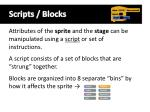 scripts blocks