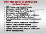 other aba center on children and the law projects