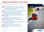 business unit trucks fit for future