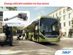 energy efficient solution for bus doors