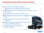 growing the trucks trailers and bus business