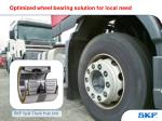 optimized wheel bearing solution for local need