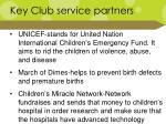 key club service partners