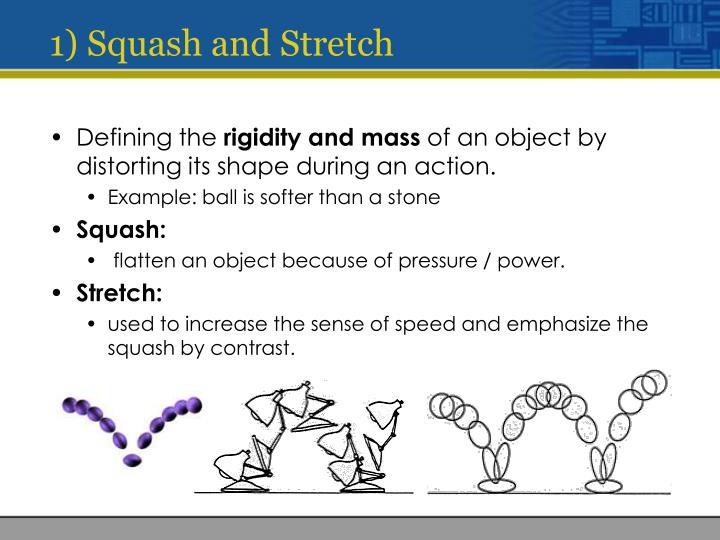 1) Squash and Stretch