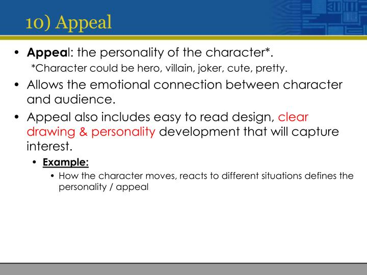 10) Appeal