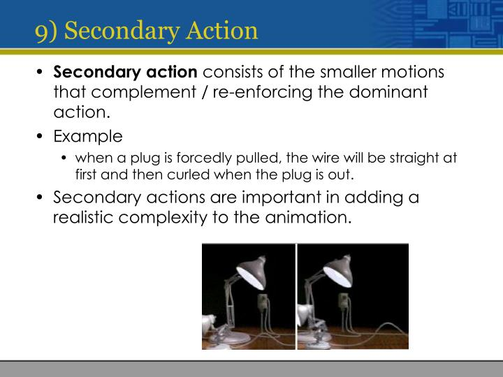 9) Secondary Action