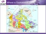 where is saskatoon