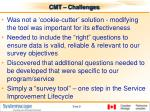 cmt challenges