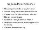 trojanized system binaries