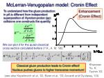 mclerran venugopalan model cronin effect