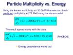 particle multiplicity vs energy1