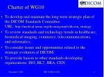 charter of wg10