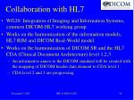 collaboration with hl7