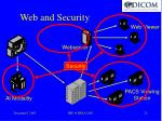 web and security