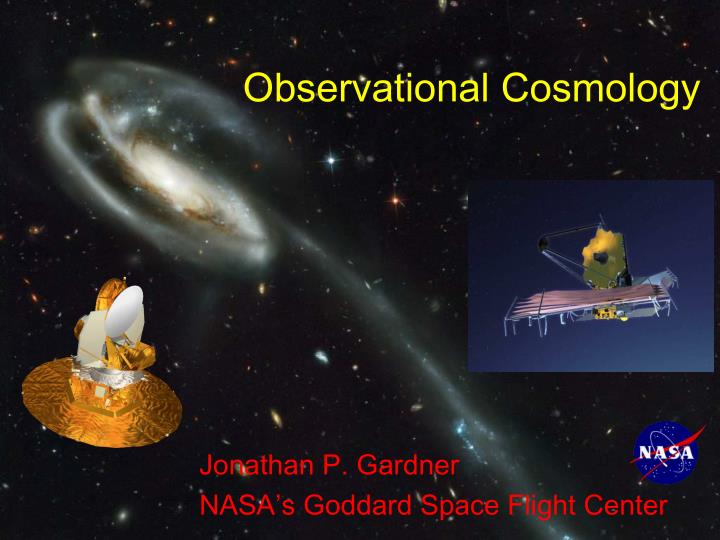 observational cosmology n.