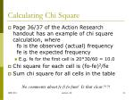 calculating chi square1