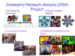 community network analysis cna project