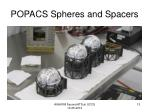 popacs spheres and spacers