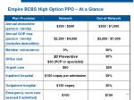 empire bcbs high option ppo at a glance