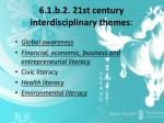 6 1 b 2 21st century interdisciplinary themes