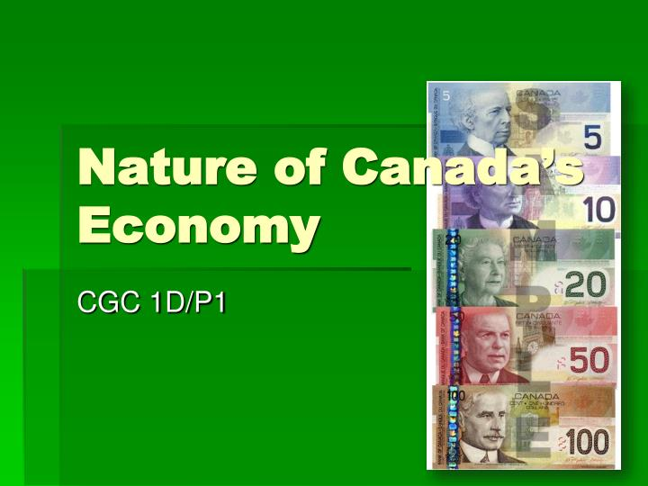 nature of canada s economy n.