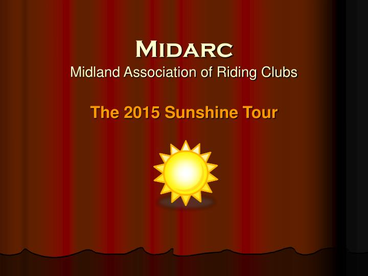 midarc midland association of riding clubs n.