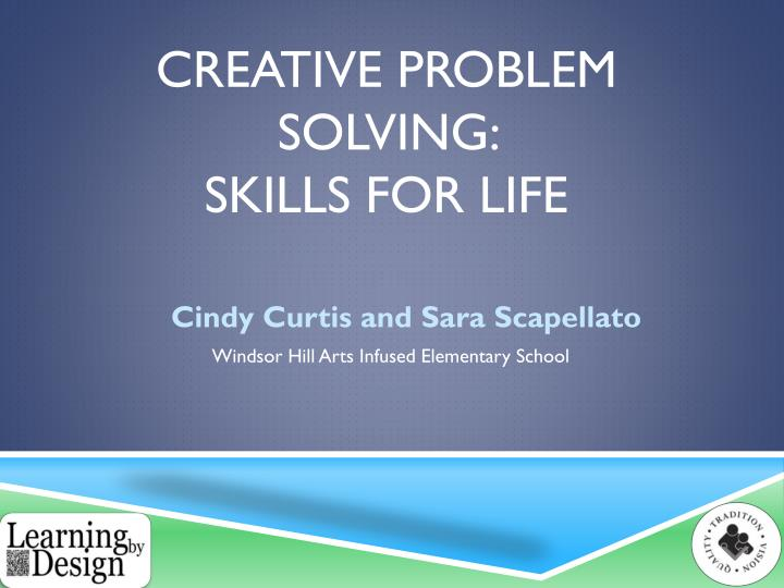creative problem solving skills for life n.