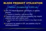 blood product utilization11