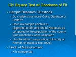 chi square test of goodness of fit1