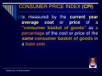 consumer price index cpi