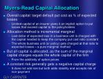 myers read capital allocation