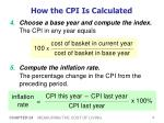 how the cpi is calculated1