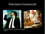 television commercial