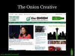 the onion creative