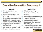 formative summative assessment