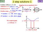 2 step solutions c